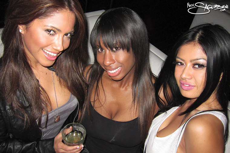 Jessica Burciaga, Tanisha Brown, Kim Lee
