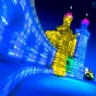 harbin-ice-city-china-blue-towers-glow-by-nick-saglimbeni