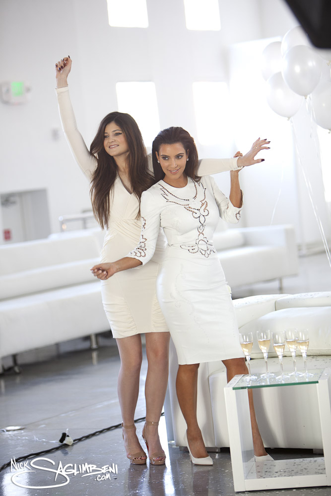 The Making of the 2012 Kardashian/Jenner Christmas Card