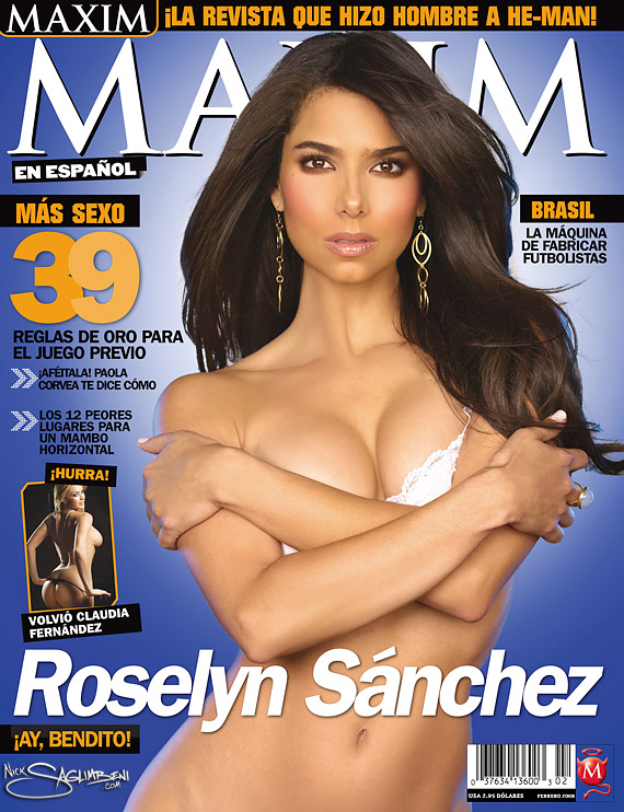 Roselyn Sanchez - Maxim Feb 2008