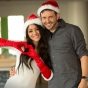 melanie-iglesias-nick-saglimbeni-toys-for-tots-christmas-promotion-poster-signing-slickforce-santa