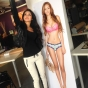 melanie-iglesias-posing-with-lifesize-lingerie-poster-slickforce-nick-saglimbeni