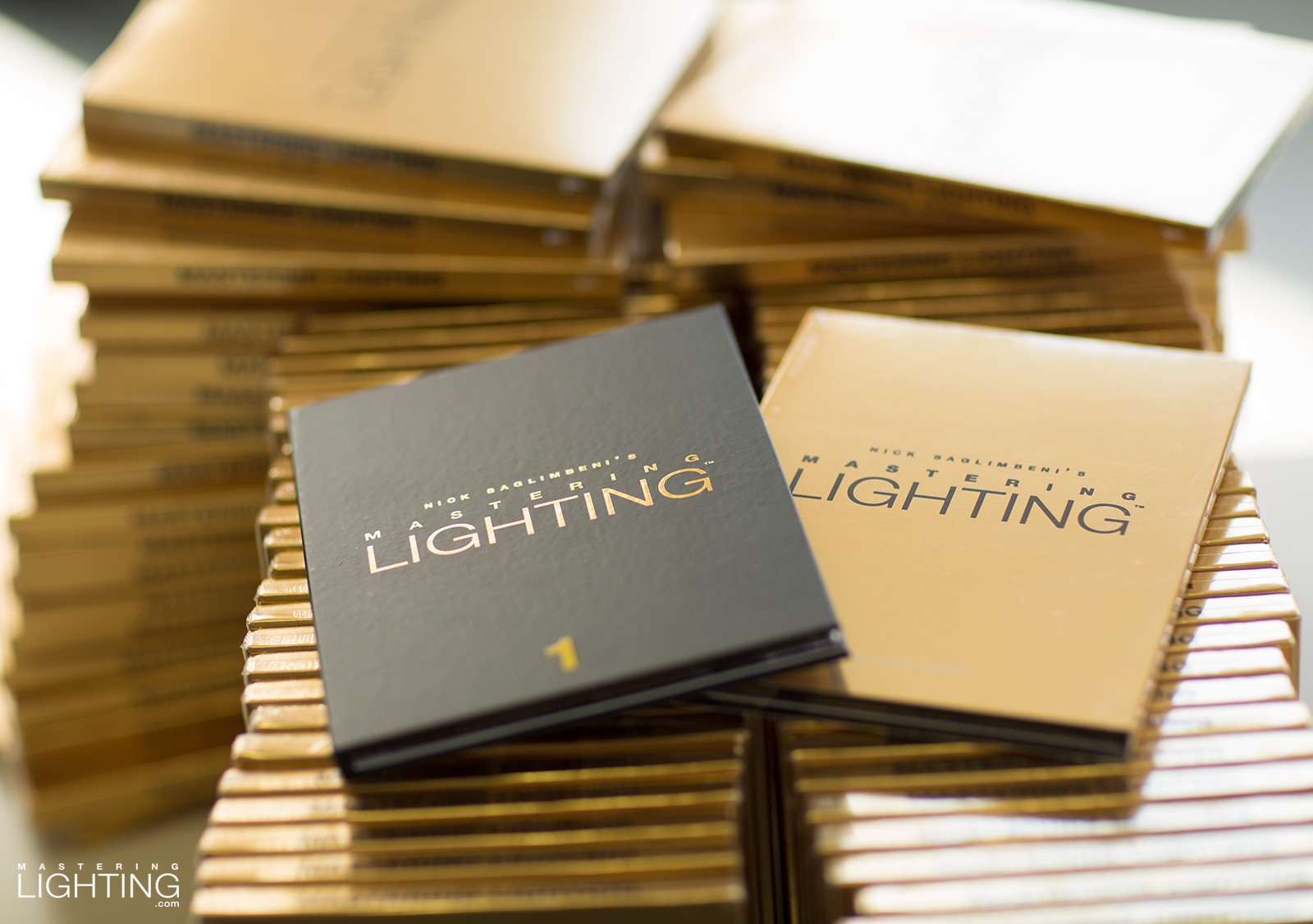 nick-saglimbeni-mastering-lighting-gold-foil-black-box-packaging-volume-one