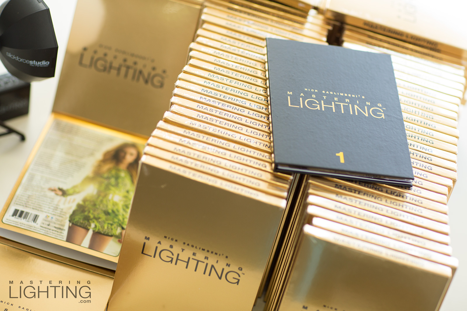 nick-saglimbeni-mastering-lighting-gold-foil-box-packaging-volume-one-stack-2